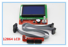 1 pcs RAMPS1.4 LCD 12864 Control Panel 3D Printer Smart Controller LCD Display Free Shipping Drop Shipping L101
