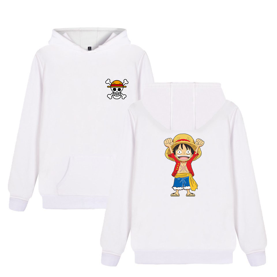 One Piece Monkey D Luffy Fashion Hoodies Anime Cotton Hoodie Sweatshirt Harajuku Hip Hop Brand Tracksuit Coat Moleton Masculino Hoodies & Sweatshirts