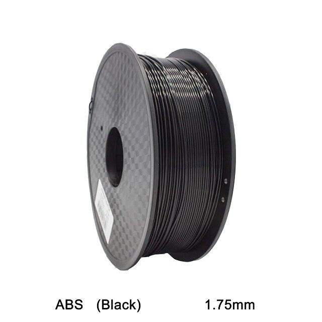 3d filament abs filament high strength black color 1.75 3d printer filament abs filamento 1kg 3d printer extruder filamento abs<br><br>Aliexpress