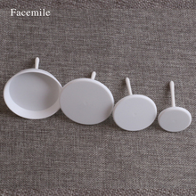 Facemile 4Pcs/set Cake Cupcake Stands Icing Cream Flower Nails Set Pastry Decorating Tool 02024 Gift