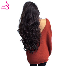 Real Beauty 3 Bundles Brazilian Body Wave Human Hair Bundles With Lace Closure With Baby Hair Free Part Non Remy Hair Free Ship(China)