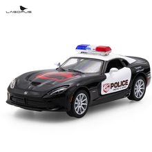 Lagopus SRT Viper GTS 1:32 Alloy Diecast Model Car Toy Police Car Collection for Boy Children As Gift