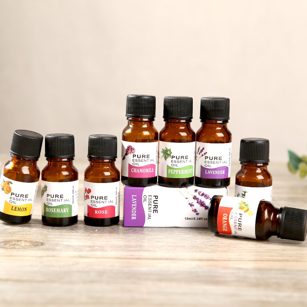 Aroma Diffusers 10ml Tea Tree Pure Essential Oils for Aromatherapy Natural Essential Oil Skin Care Lift Skin Plant Fragrance oil(China)