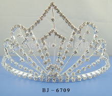 Free shipping 10pcs/lot wedding crown about 8-10cm tall