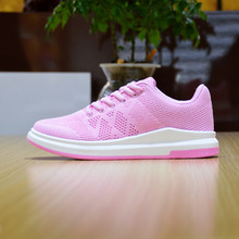 Latest Free Run Flyknits Women's Running Shoes Breathable Pink Purple Sneakers Woman Personality Lace-Up Female Sports Shoe