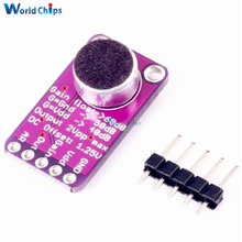 MAX9814 Microphone Amplifier Board Module Auto Gain Max 40dB/50dB/60dB Frequency 20Hz - 20 KHz 2.7V-5.5V With Pins for Arduino(China)