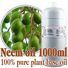 Free shopping100% pure plant base oils chinaberry oil 1000ml Cold-pressed neem oil Kill parasites,remove mites