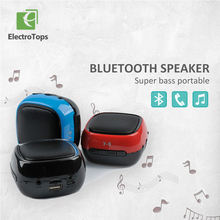 Portable Bluetooth 3.0 Stereo Wireless bass Speaker USB TF Card FM Radio subwoofer Sound Box speake for iphone Android phone
