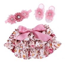 baby bloomers and headband set ,Girls short  Pant ,floral Baby girl Bloomers,ruffle baby bloomers ,baby girl shorts  #7G3124