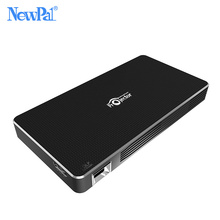 3D DLP Projector NewPal 2000Lumen WIFI Pico Projector 1GB RAM+8GB ROM Android4.4Home Game Video Projector(China)