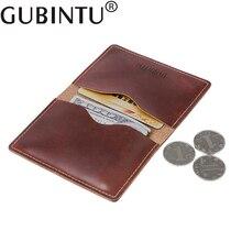 Porte Carte Bank ID Business Credit Card Holder Organizer Auto Car Document Genuine Leather Cover Case Men Wallet Bag Cardholder
