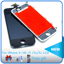 AAA+ High Quality LCD For Apple iPhone 4 4s 5 5c 5s  LCD Complete Display Touch Screen Digitizer Assembly Replacement