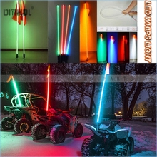 Free Shipping 1pc 5ft Off-Road Safety LED Whips Light(China)