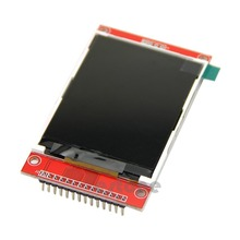 "OOTDTY 2.8"" 240x320 SPI TFT LCD Serial Port Module+PCB Adapter Micro SD ILI9341 5V/3.3V(China)"
