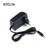 1Pcs light Switch Power Supply Charger Transformer Adapter 110V 220V to DC 12V 2A RGB LED Strip 5050 3528 EU Cord Plug Socket