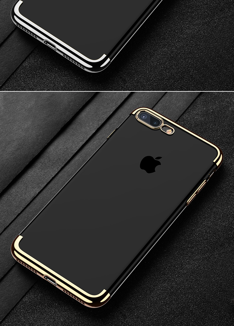 Luxury Plating Clear Case For Iphone 6 6s 7 8 X Transparent Wp Plus Cafele Tpu Soft Silicone Casing Cases Cover Description