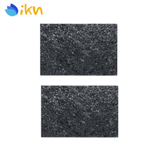 ikn 2pcs Black Pearl 43x29cm Guitar Bass Pickguard Blank Material Sheet 4Ply for Guitar Pickguard Custom(China)