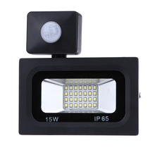 15W 220V 10LED Sensor Led Flood Light Outdoor Lights 28 led Street Square Highway Wall Billboard Garden Wall FloodLight