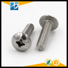 (20 pc/lot) metric thread M4,M5,M6 *L Stainless Steel Phillips Truss Head model Electric machine diy Screw(China)