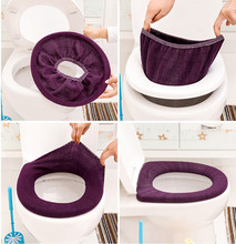 Bathroom Toilet Seat Closestool Washable Soft Warmer Mat Cover Pad Cushion Vovotrade High Quality