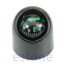 Free Shipping Auto Car Truck Boat Adhensive Sticker Mini Portable Self-adhesive Compass Ball(China)