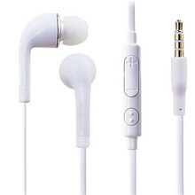J5 3.5mm In-Ear Earphones Stereo Headset Handsfree Music Sport Earbuds Mic iPhone Xiaomi Huawei Samsung MP3 PK S8
