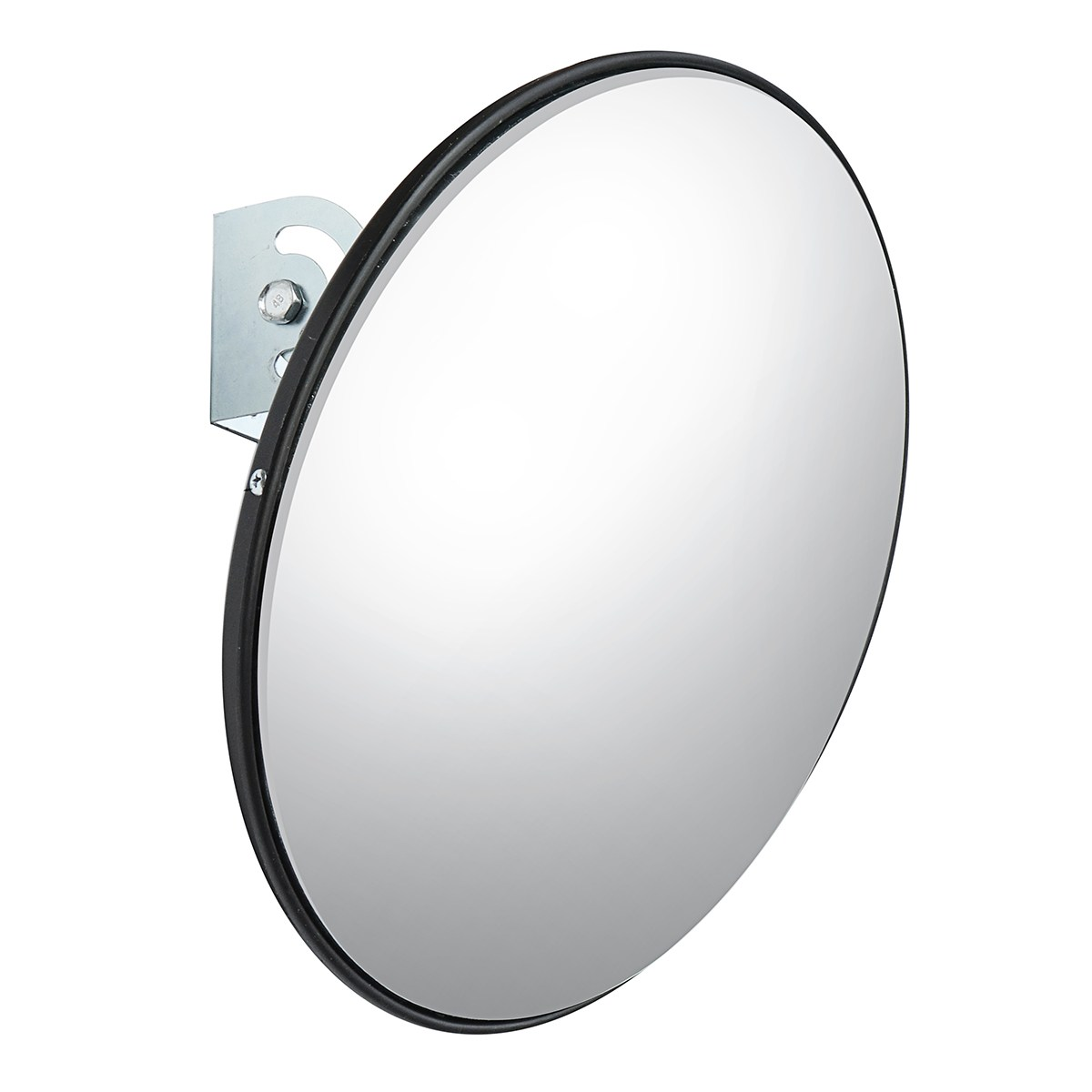 NEW 45 cm Wide Angle Curved Convex Security Road Mirror For Indoor Burglar Traffic Signal Roadway Safety<br>