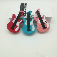 1 x PU Foam Guitar Design Phone Straps Squishy Toys Cell Phone Lanyard Cords Keychain Gift P25(China)