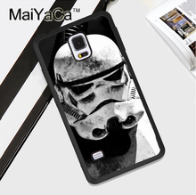 Star Wars Stormtrooper Soft Rubber Cell Phone Case OEM For Samsung S3 S4 S5 S6 S7 edge S8 plus Note 3 Note 4 Note 5 Cover Skin
