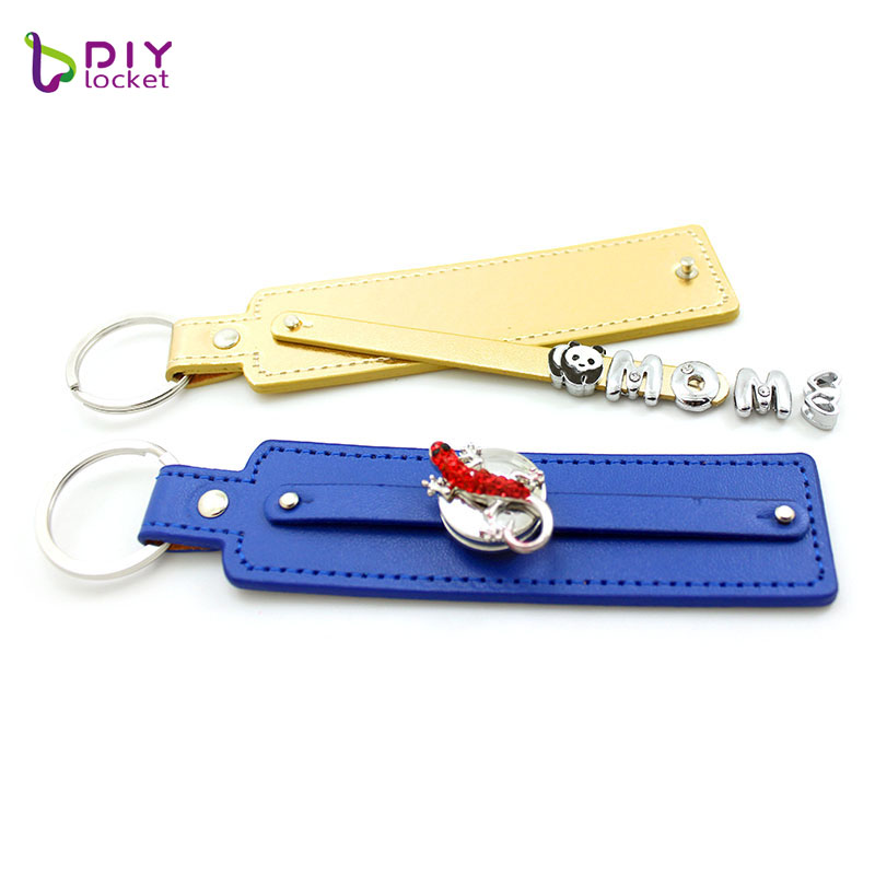 PU leather keychain  LSBR017 5