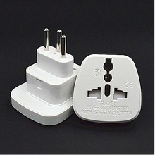 Multifunction white 10A 250V 3 pins CE certified ABS material connector AU EU US to Swiss travel plug adaptor with security door