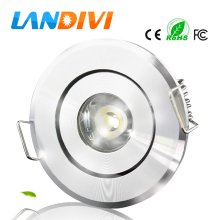 3w led down light led spot recessed ceiling lamp led ceiling downlight 3w spot downlight for Cabinet light for Showcase Light