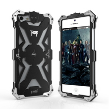 "For Apple Iphone 5 5S SE 4.0"" Case Zimon Real Original Design Armor Heavy Dust Metal Aluminum Phone Cover for Apple Iphone5 SE"
