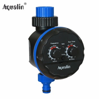 Irrigation Garden Water Timer Waterproof Controller for Garden,Yard with Rain Delay Function #21039