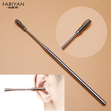1Pcs Portable Stainless Steel Spiral Ear Pick Wax Removal Curette Cleaner Health Ear Care Stick Tools EarPick Cleaning Hygenic(China)