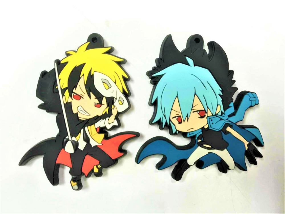 G300 2018 New arrival Original Japanese anime figure SERVAMP rubber Silicone sweet smell mobile phone charms keychain strap