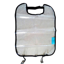PVC Car Seat Back Protector Dust-proof Children Kick Mat Protects From Mud Dirt Waterproof Car Seat Covers