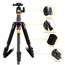 2016 Newest Portable 10KG aluminium monopod stand professional camera tripods for slr video clip tripodes para reflex dslr trip