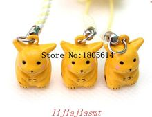 Hot sale 50 Pcs boy girl favourite popular Cute nintendo kawaii anime Metal Figure Design cell phone strap bell charm
