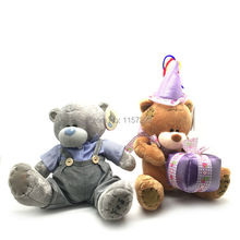 25cm Special Christmas Gift Teddy Bear Dolls Cute Plush Bears Toys Birthday Valentines Gifts for girlfriend child(China)
