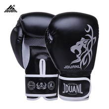 10OZ/6OZ Free Shipping High Quality PU Boxing Gloves Fighting Sports Wearable Breathable For Training Free Size