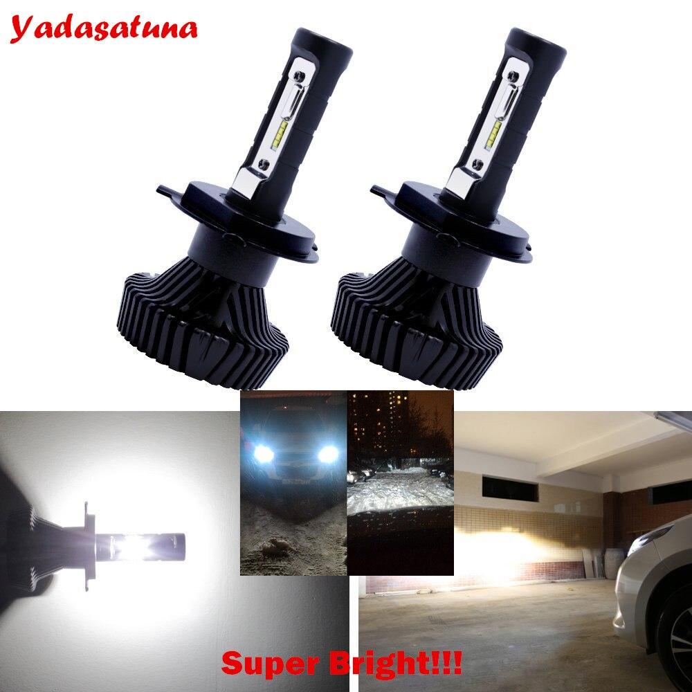 2*H4 HB2 Hi/Lo LED Faro Bombillas Alquiler de luces LED 160W LED lampara con la viruta ZES Chip para el coche vehiculo NO CANBUS<br>