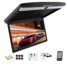 Universal 17.3 inches car Monitor LED digital screen Car Roof Mounted Monitor car ceiling monitor flip down monitor Display
