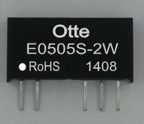 dc dc converter 5V to positive and negative dual output 5 isolated voltage 3kV power module E0505S-2W quality goods