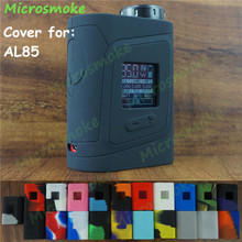 1pc Smok alien AL85 silicone case for alien baby 85w kit TC box mod free ship skin sleeve enclourse cover sticker decal rubber