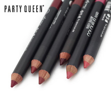 1pcs Party Queen Long Lasting Multi-functional Lipliner Pencil Waterproof Lip Eye Brow Cosmetic Makeup Colorful Lip Liner Pen(China)