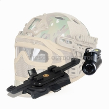 WIPSON Sports Helmets Parts FMA Contour HD Adapter FAST for Airsoft Hunting High Definition Adapters TB1141 Free Shipping(China)