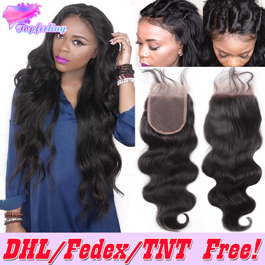 7A Brazilian Body Wave Lace Closure Bleached Knots Free Middle 3 Part Body Wave Closure,Brazilian Virgin Human Hair Lace Closure<br><br>Aliexpress