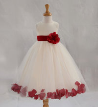 Hot Selling 2017 New Summer Children Wedding Dress Kids Princess Party Dresses For Girls Flowers Pageant Costume Vestidos Menina