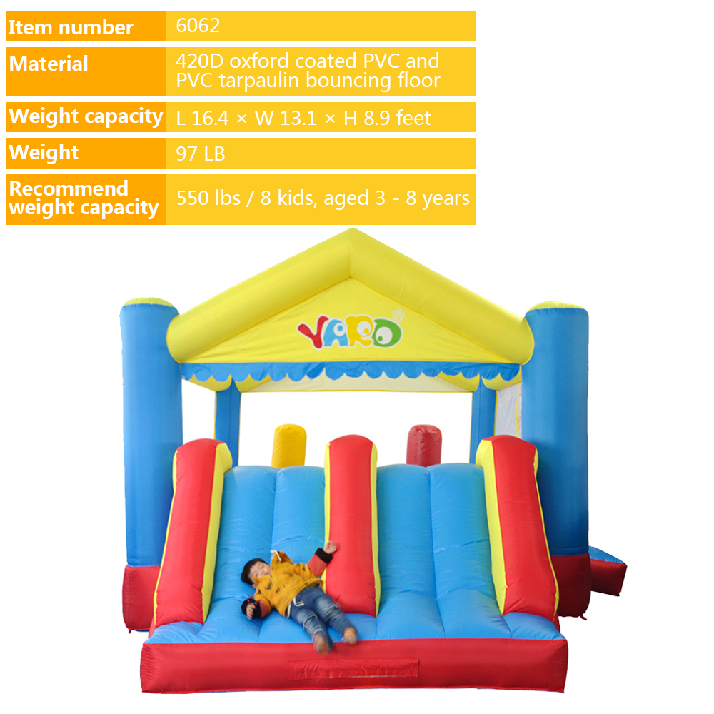6062 inflatable bouncer bounce house castle_01